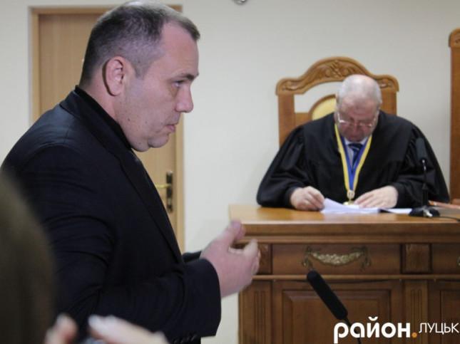 Василь Нагорний на одному з судів
