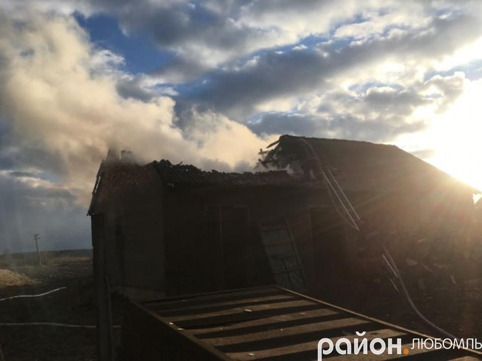 Пожежа в Почапах