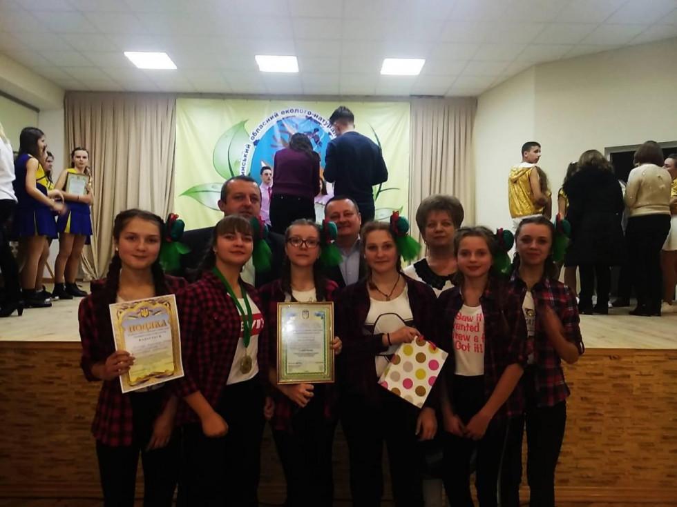 Дев'ятикласниці зі Штуня стали бронзовими призерками