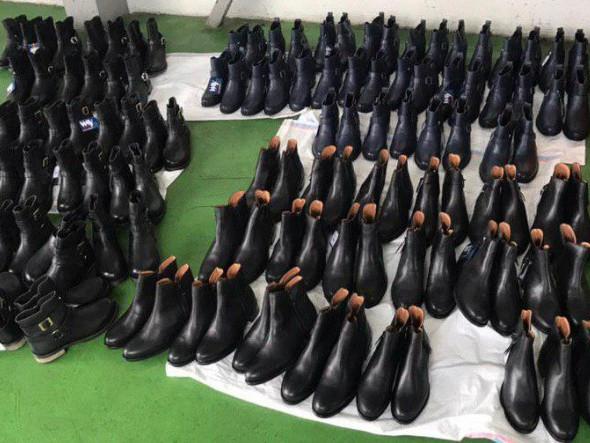 Вилучене взуття