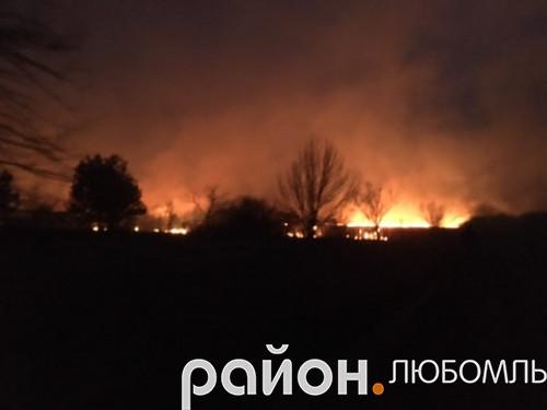 Пожежа біля Вишнева