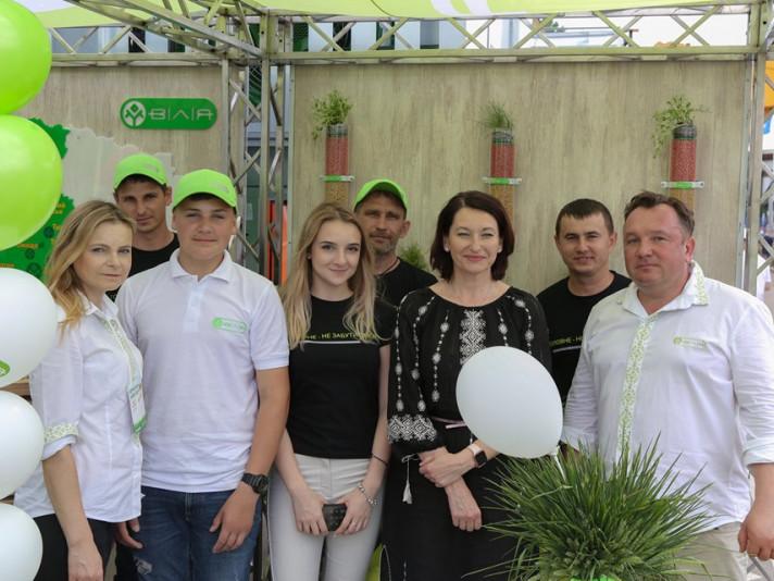 Ірина Констанкевич з командою від «Вілії»