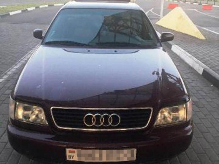На «Ягодині» прикордонники знайшли автівку з підробленими документами