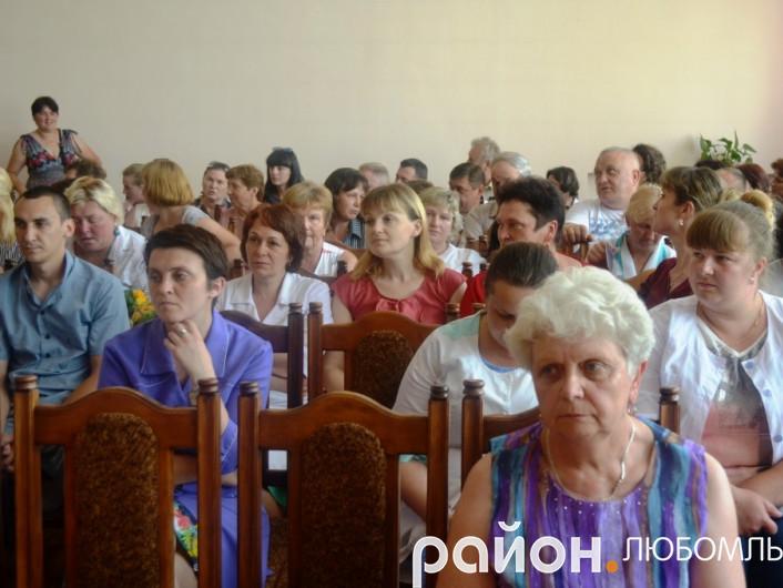 У Любомлі з професійним святом привітали медичних працівників