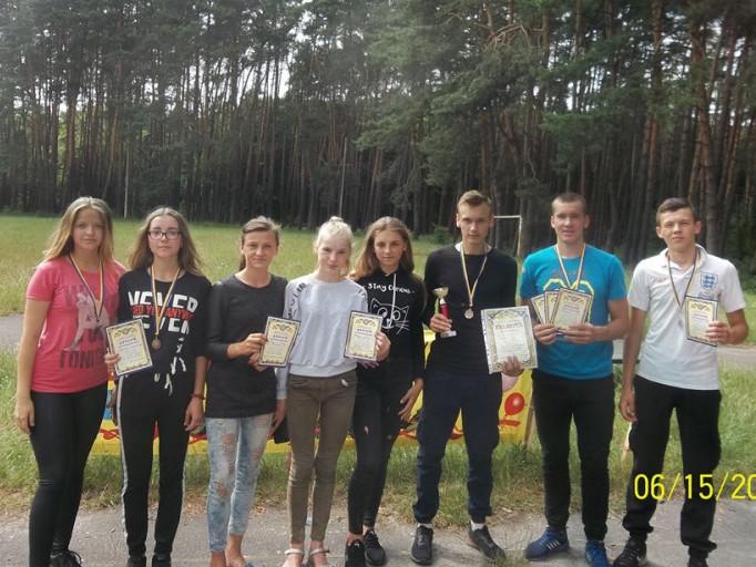 Команда із Штуня здобула бронзу на обласних туристських змаганнях
