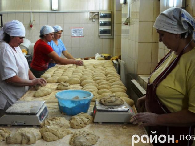 Пекарня в Любомлі