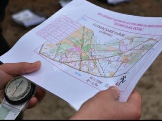 Карта орієнтування