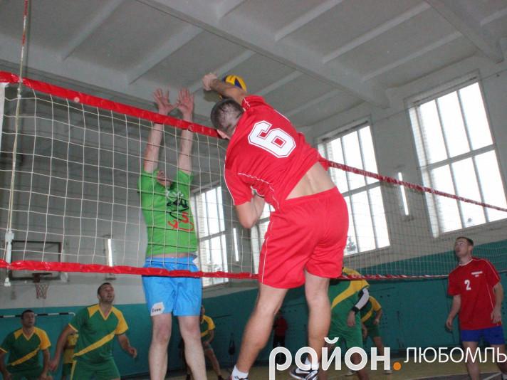 Чемпіонат району з волейболу