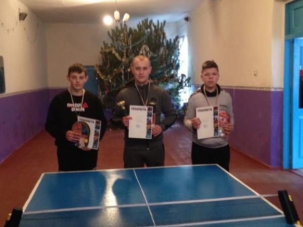Трійка найкращих тенісистів
