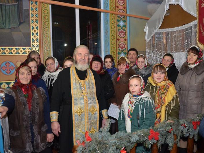 Різдвяні піснеспіви у Куснищах