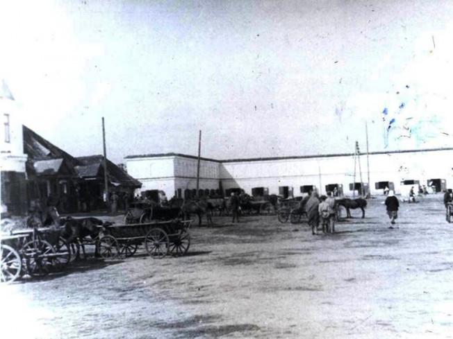 Ринок у Любомлі