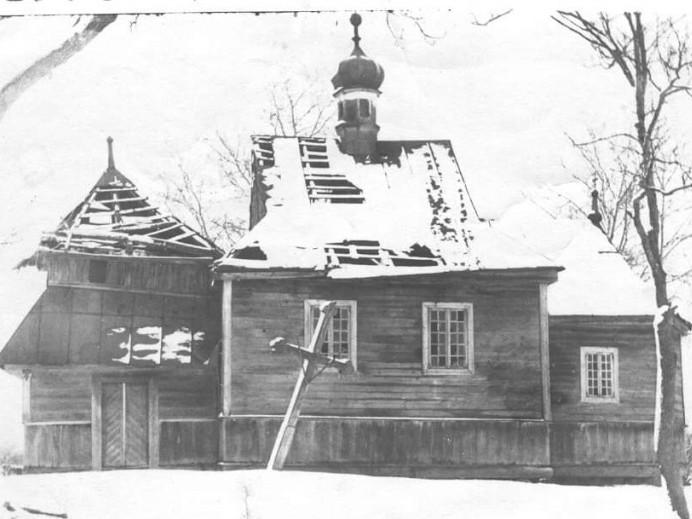 Церква у Машеві, побудована 1628 року.