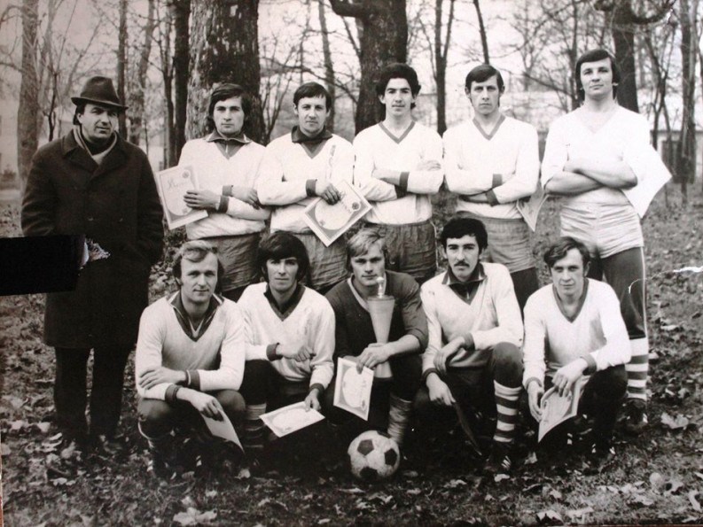 Команда Любомльщини з футболу