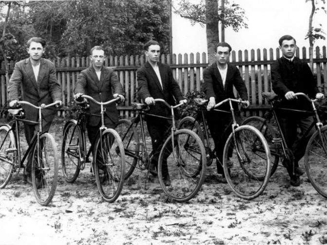 Любомльчани на велосипедах