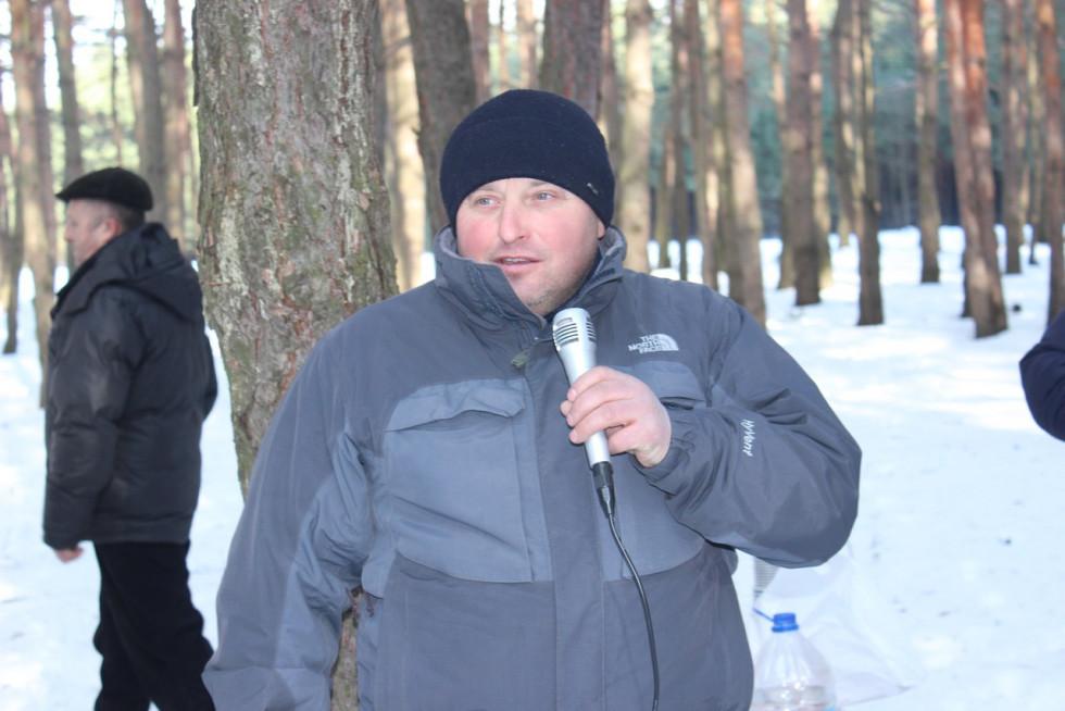 Голова Головненської громади Микола Демедюк