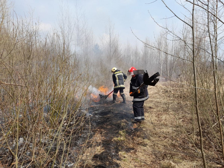 У Волинській області за добу сталося вісім пожеж