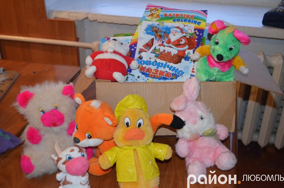 Для дітей у Гранітне підготували подарунки.