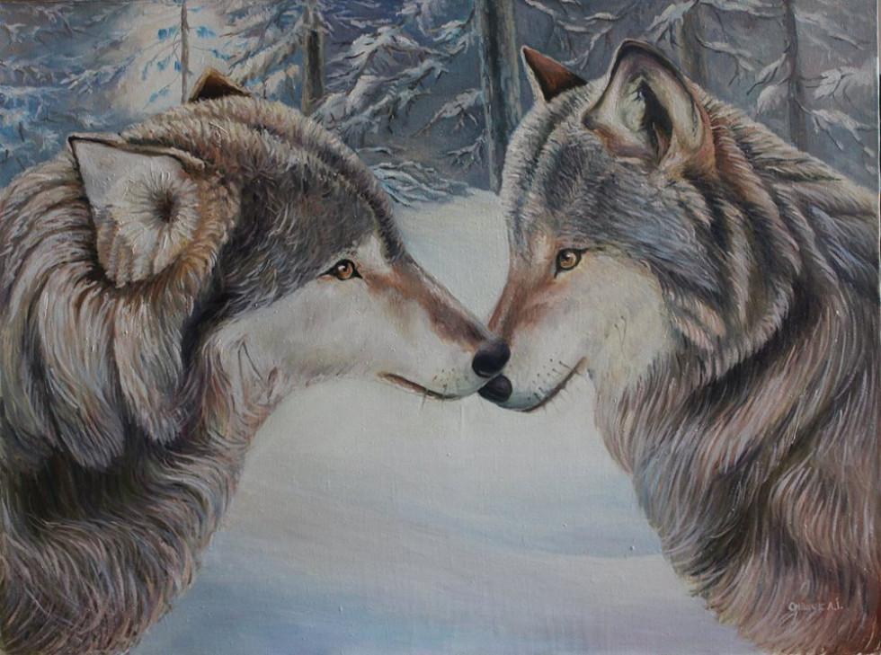 Хижі звірі на картинах такі добрі.