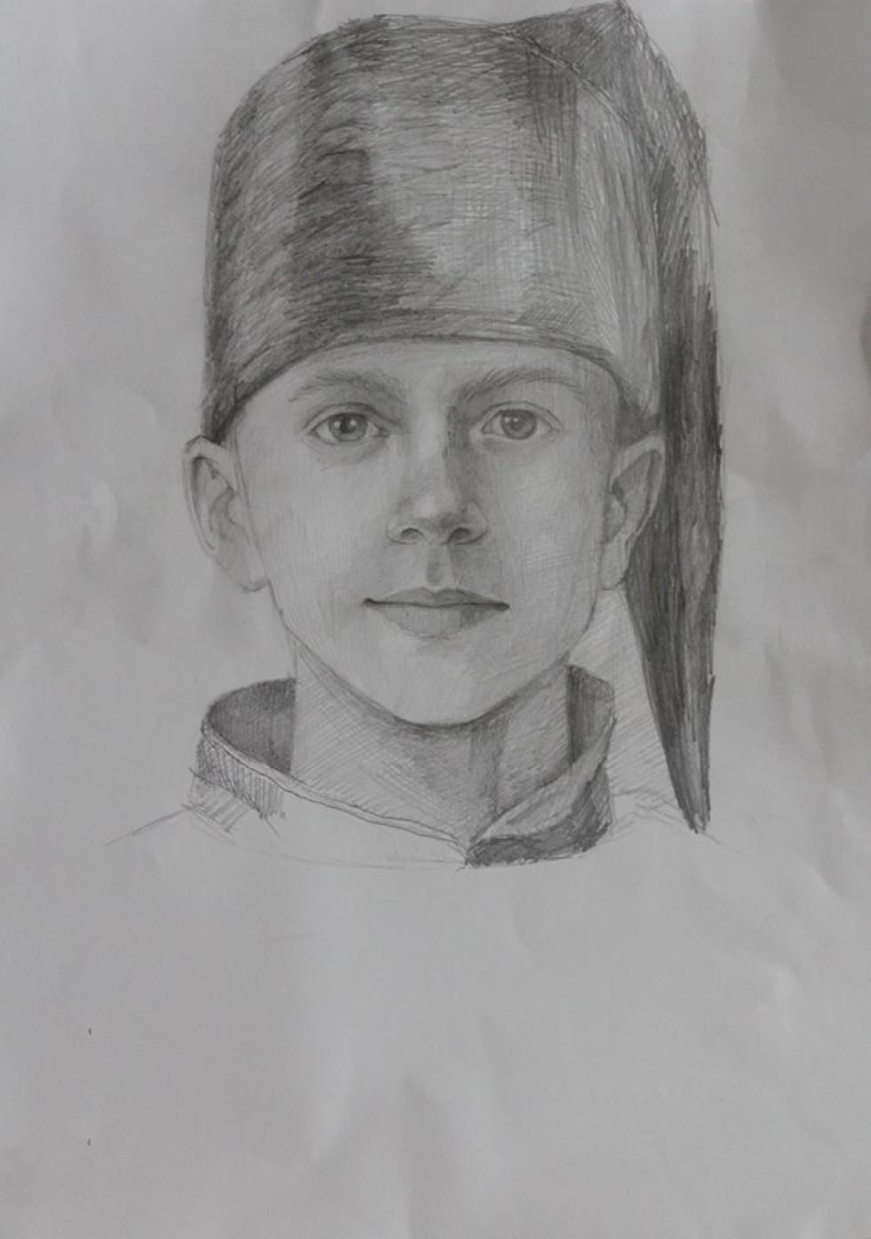 Портрет козачка.