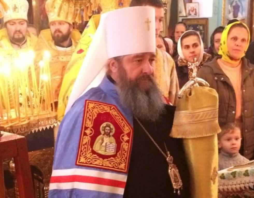 Владика привітав всіх із прийдешніми Різдвяними святами.