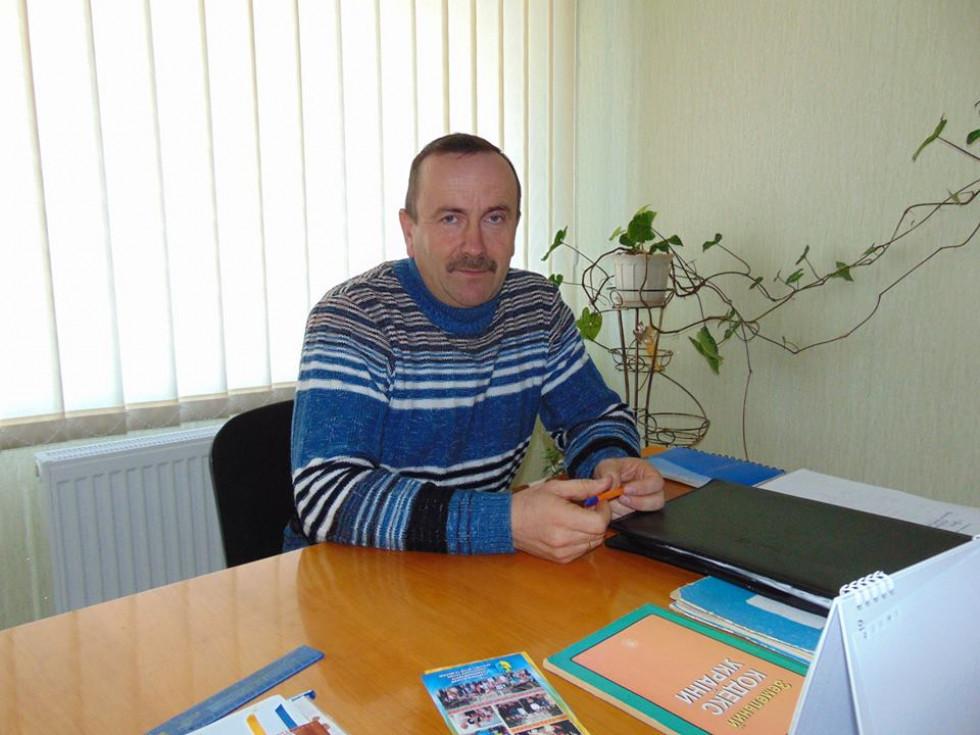 Буцинський сільський голова Петро Кошелюк.