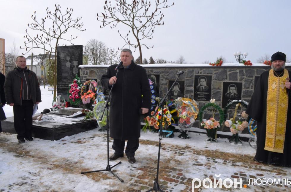 Перший заступник голови райдержадміністрації Олександр Герасимчук.