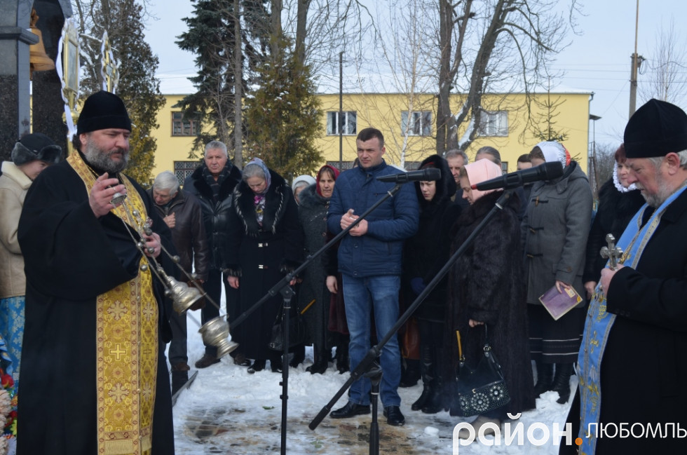 Священнослужителі міста провели громадську панахиду за загиблими.
