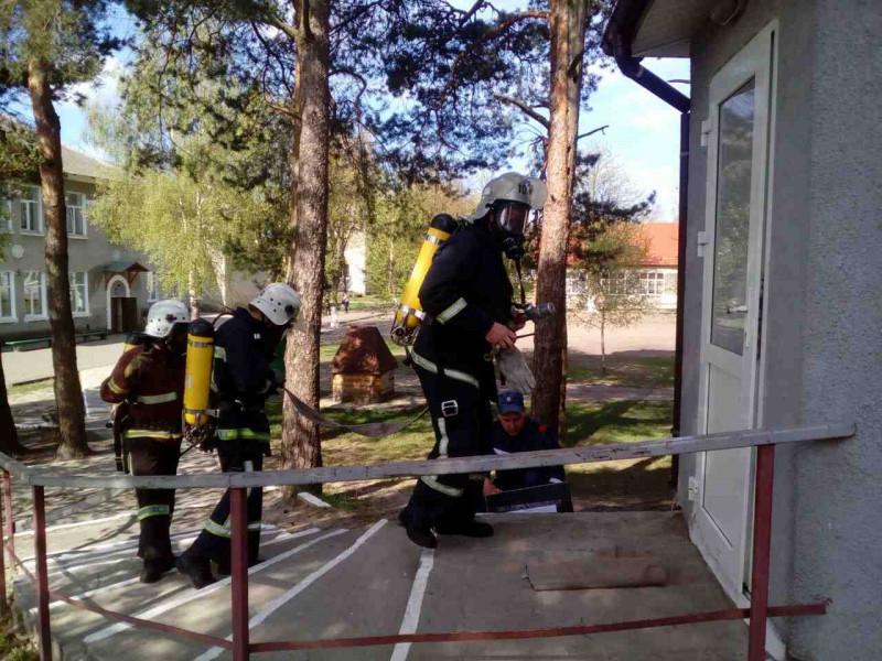 Пожежно-тактичні навчання