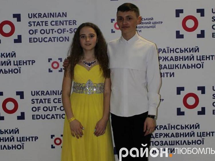 Владислава Савосюк та Андрій Ковальський.