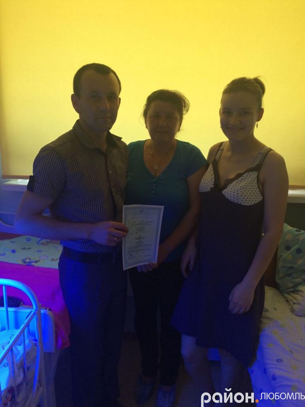 Сім'я Дячуків із Любомля 4 травня святкуватиме відразу два дні народження.
