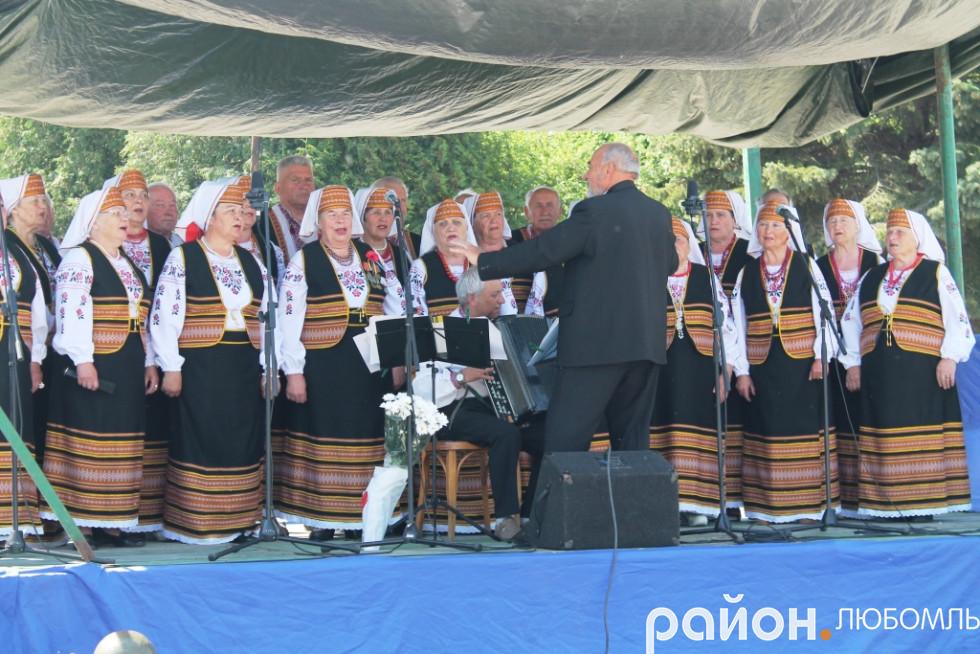 Народний аматорський хор ветеранів«Осіннє золото».