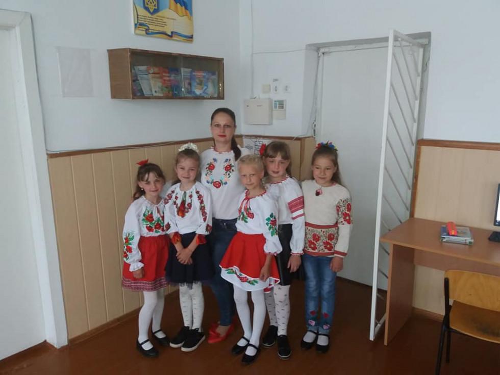 Учні школи №3 міста Любомль