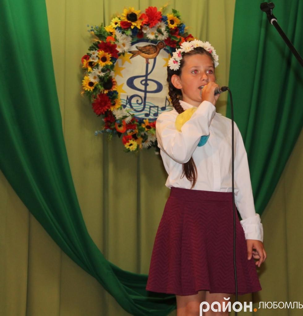 Анастасія Кучерява (ЗОШ №2 м. Любомль)