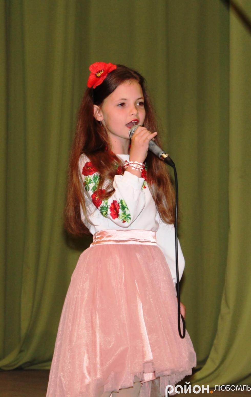 Олександра Оксентюк (ЗОШ №2 м. Любомль)