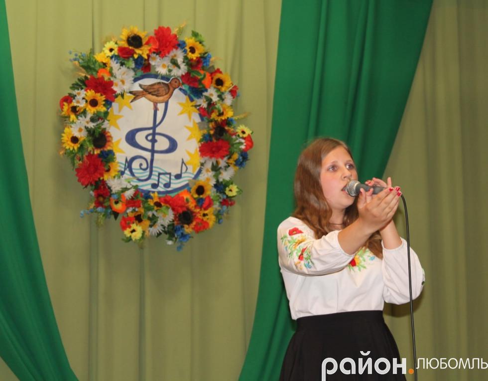 Вікторія Максимук (Почапівський СБК)