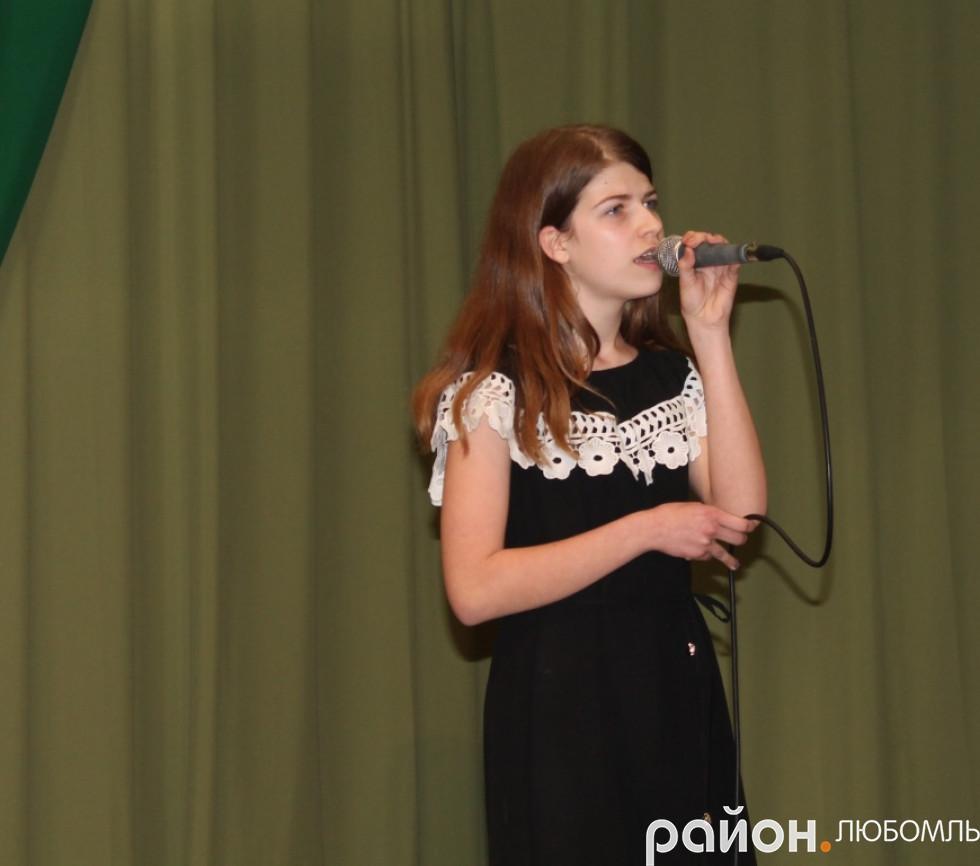Дарина Гладка (ЗОШ №2 м. Любомль)