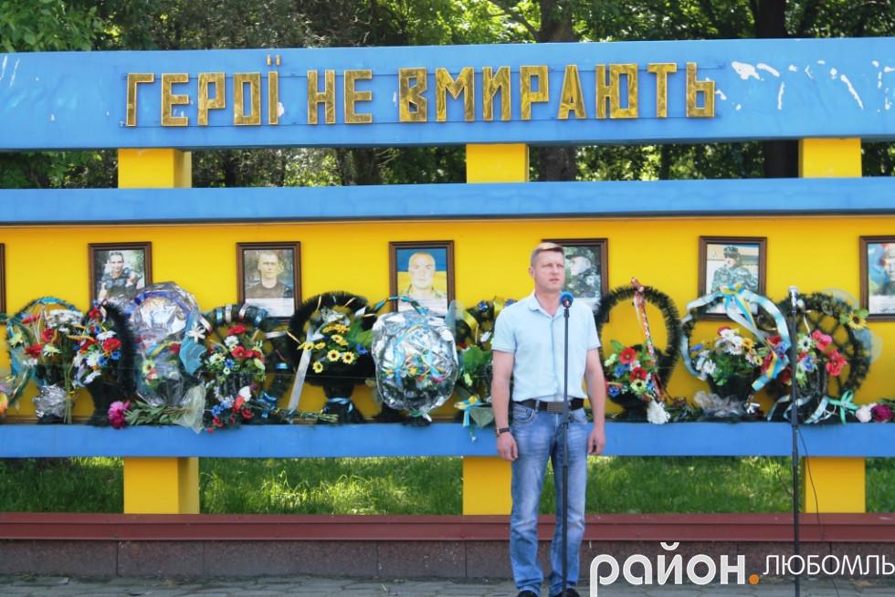 Помічник народного депутата Ігоря Гузя Ігор Торба