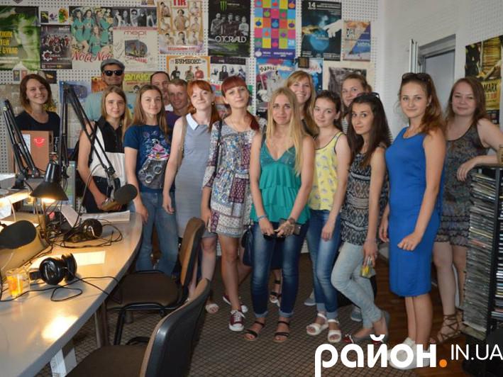 Учасники ІІІ Літньої школи практичної журналістики