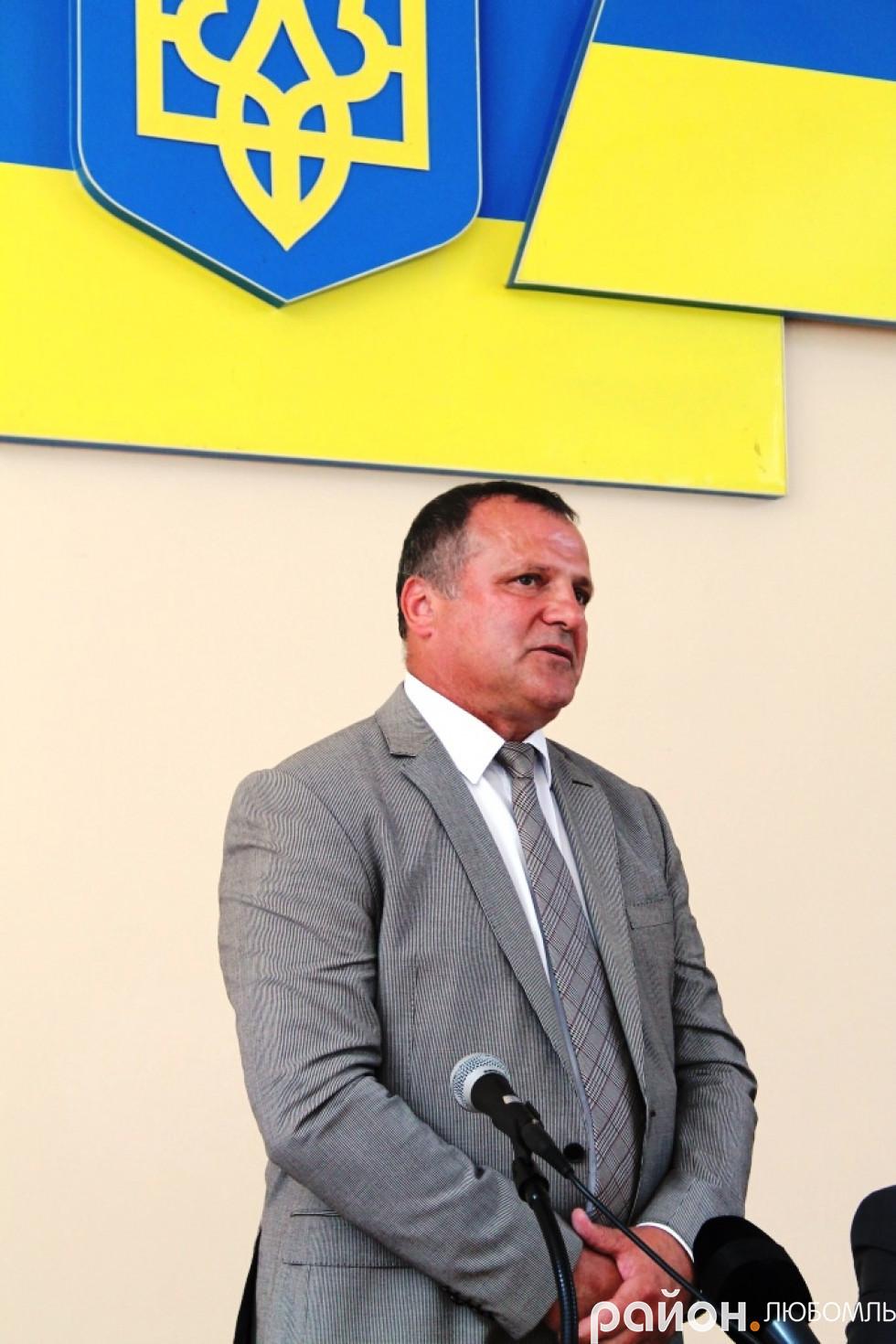 Олександр Устименко поки що три місяці виконувати повноваження голови Любомльської РДА.