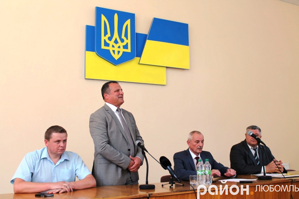 Олександр Устименко пообіцяв працювати на благо району.