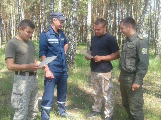 Любомльські рятувальники застерігають від пожеж у лісах