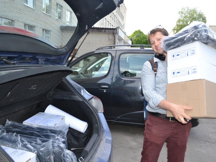 Любомльська лікарня отримали обладнання від Світового банку