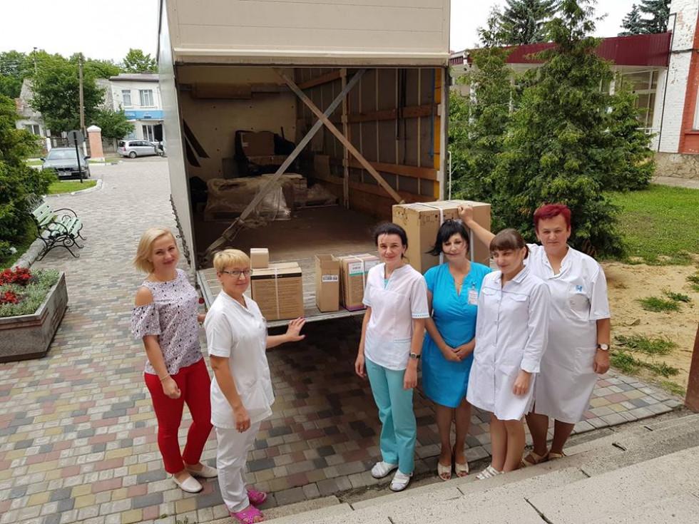 Обладнання від Світового банку зустрічали в усіх лікарнях Волині