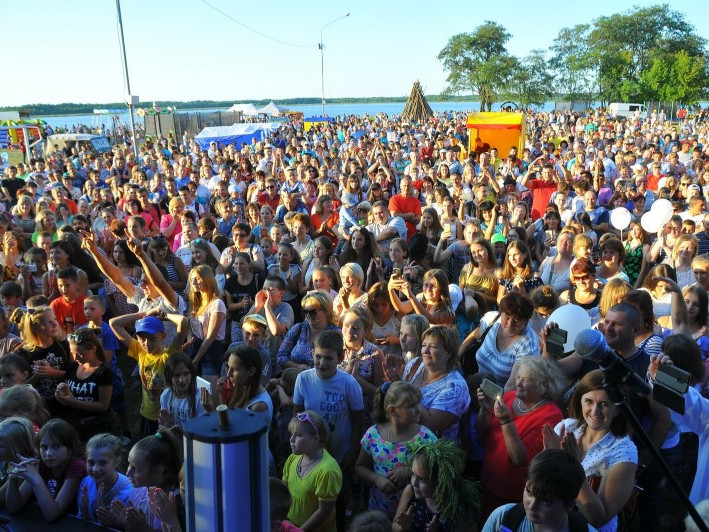 На Івана Купала до Згоран з'їхалося понад 4 000 людей