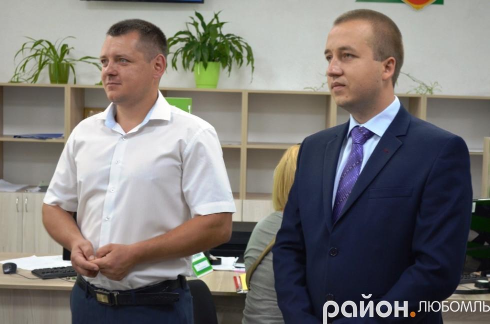 Іван Маїло та Ромаг Ющук.