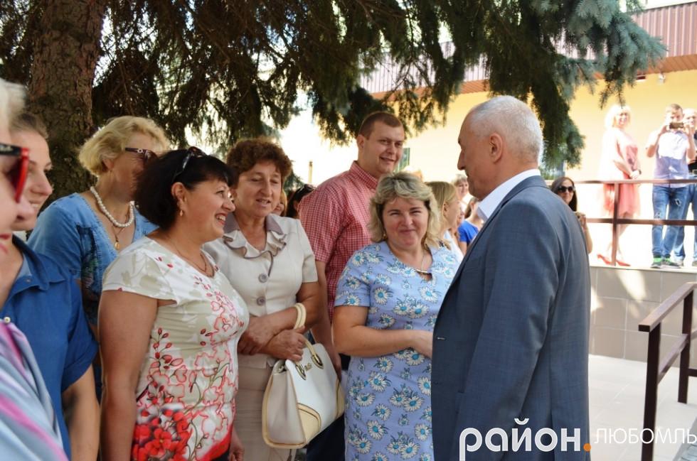 Голова Волинської облдержадміністрації Олександр Савченко.