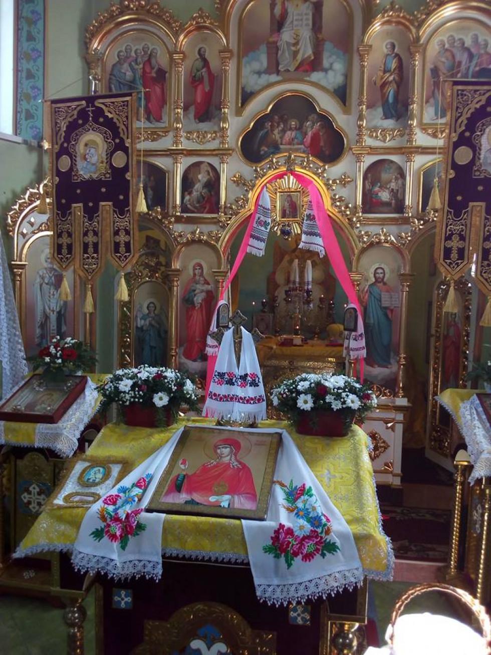 Престольний празник у Коцюрах.