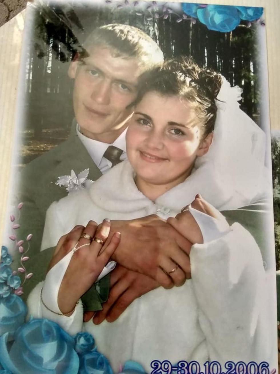 Анатолій Федчишин з дружиною.