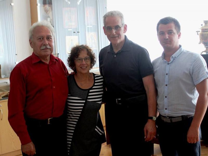 У Любомльському краєзнавчому музеї побували гості з Канади.