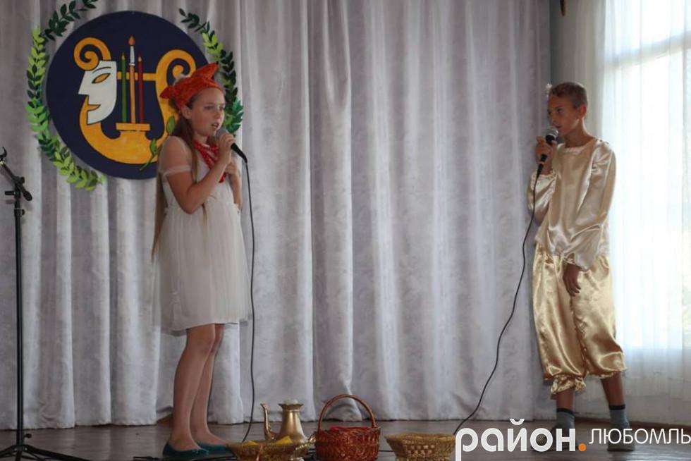 Вихованці зразкової театральної студії «Шанс» показали казку